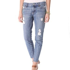 Koral Relaxed Destroyed Skinny Jean